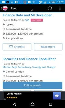 UK Jobs Search apk screenshot