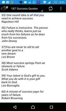 187 Success Quotes apk screenshot