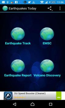 Earthquakes Today poster