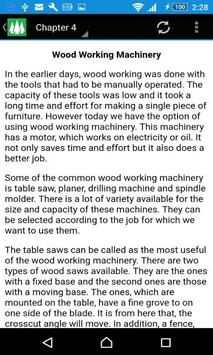 Woodworking Course apk screenshot