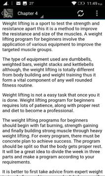Weight Lifting Course screenshot 3