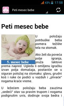 Razvoj bebe apk screenshot