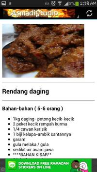 Resepi Masakan Raya screenshot 1