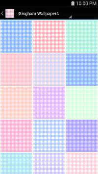 Gingham Wallpapers poster