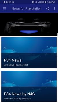 News For PS4 poster