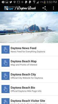 DAYTONA BEACH FLORIDA poster