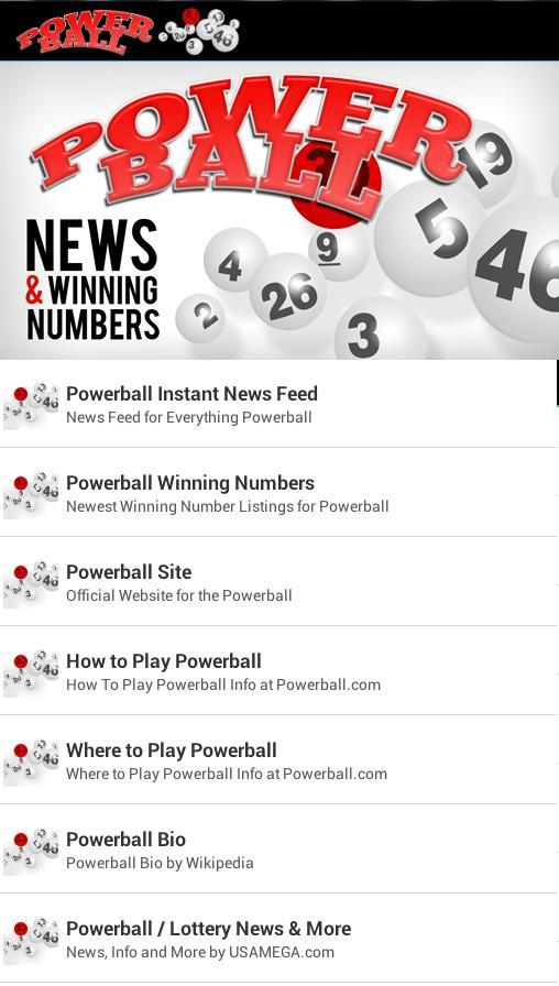 Powerball News & Numbers for Android - APK Download