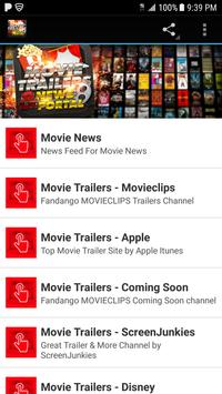 Movie Trailers & News Portal poster