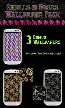 Skulls N Roses Wallpaper Pack screenshot 4