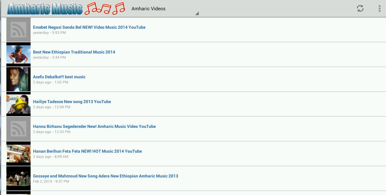 Amharic Music for Android - APK Download