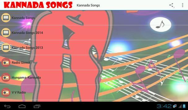 Kannada Songs and Radio poster
