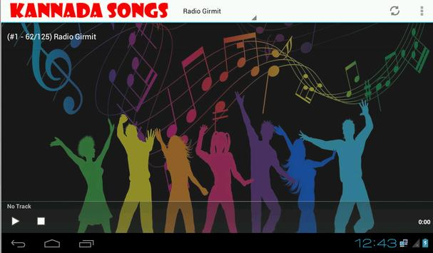 Kannada Songs and Radio screenshot 1