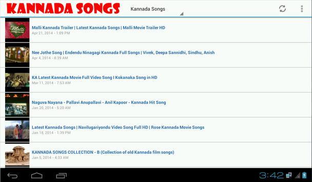Kannada Songs and Radio screenshot 2