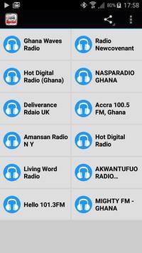 Ghana Radio poster