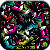 New HD Neon Flower Walllpapers icon