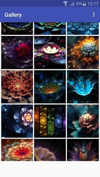 New HD Neon Flower Walllpapers poster