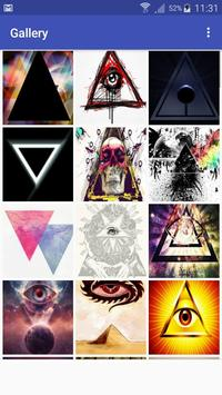 New HD Illuminati Wallpapers apk screenshot