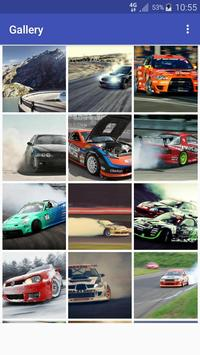 New HD Drift Cars Wallpapers poster