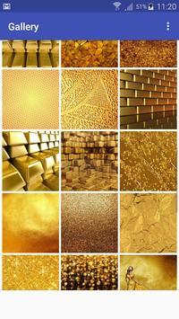 New HD Gold Wallpapers screenshot 2