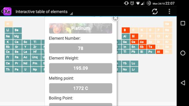 Interactive periodic table apk download free education app for interactive periodic table apk screenshot urtaz Gallery