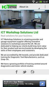 ICT Workshop Solutions screenshot 1