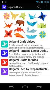 Origami Guide poster