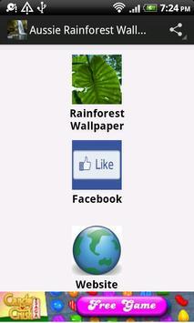 Aussie Rainforest Wallpaper screenshot 2