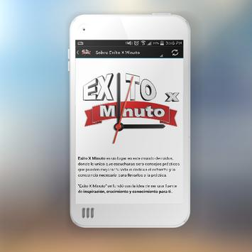 Exito X Minuto apk screenshot