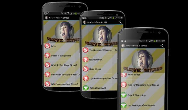 How to relieve stress apk screenshot