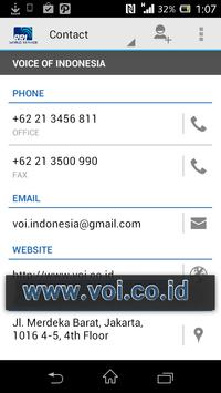 RRI WORLD SERVICE apk screenshot