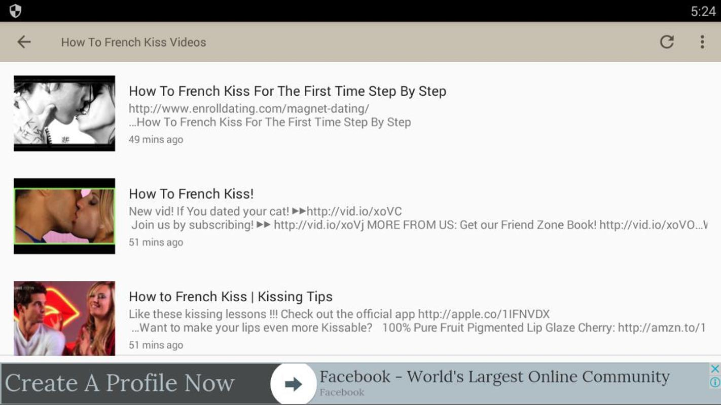How to french kiss videos for android apk download how to french kiss videos poster how to french kiss videos screenshot 1 ccuart Images