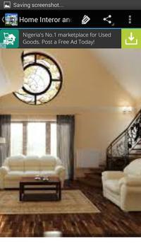 Homes Interior and Decoration apk screenshot