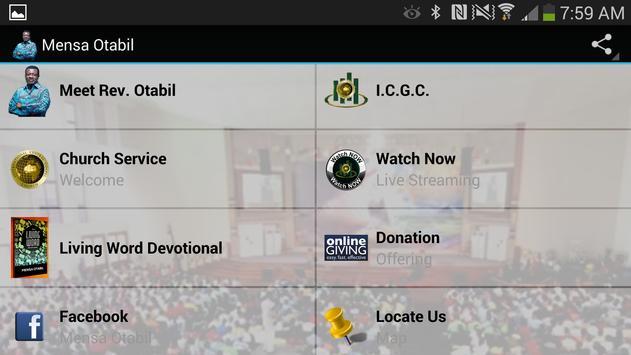 Mensa Otabil screenshot 2
