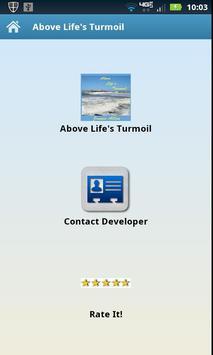 Audio - Above Life's Turmoil poster