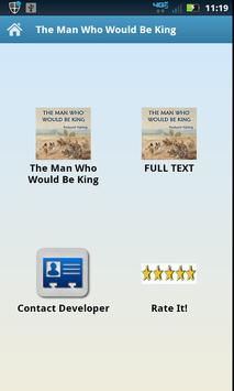 The Man Who Would Be King apk screenshot