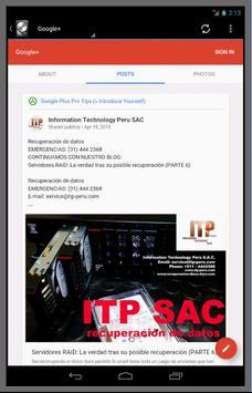 ITP S.A.C. screenshot 6