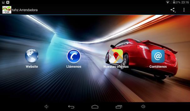Tahz Arrendadora apk screenshot