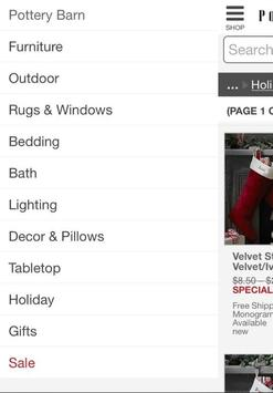 PotteryBarn screenshot 1