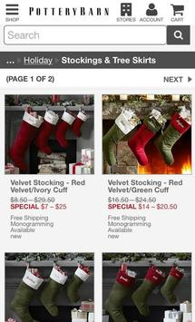 PotteryBarn screenshot 3