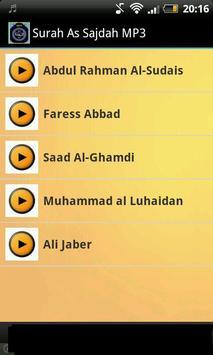 Surah As Sajdah MP3 poster