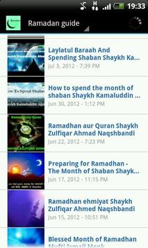 Ramadan Guide Playlist poster