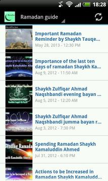 Ramadan Guide Playlist screenshot 1