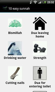 10 Easy Sunnah apk screenshot