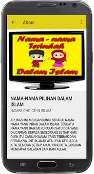 NAMA-NAMA PILIHAN DALAM ISLAM screenshot 1