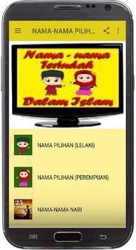 NAMA-NAMA PILIHAN DALAM ISLAM screenshot 7