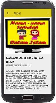 NAMA-NAMA PILIHAN DALAM ISLAM screenshot 8