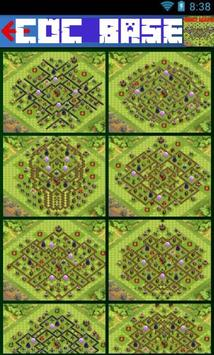 Bases for Clash of Clans poster