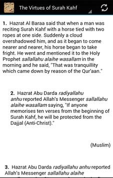 Virtues of reciting the Quran apk screenshot