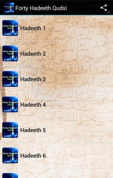 Forty Hadeeth Qudsi poster