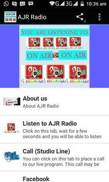 AjrRadio poster